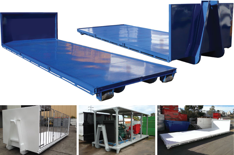 hooklift-flat-top-tray