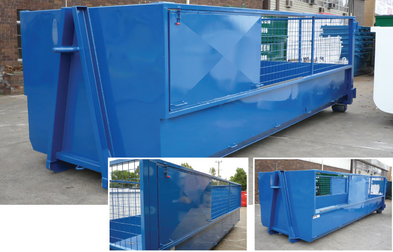 hooklift-recycling-cage